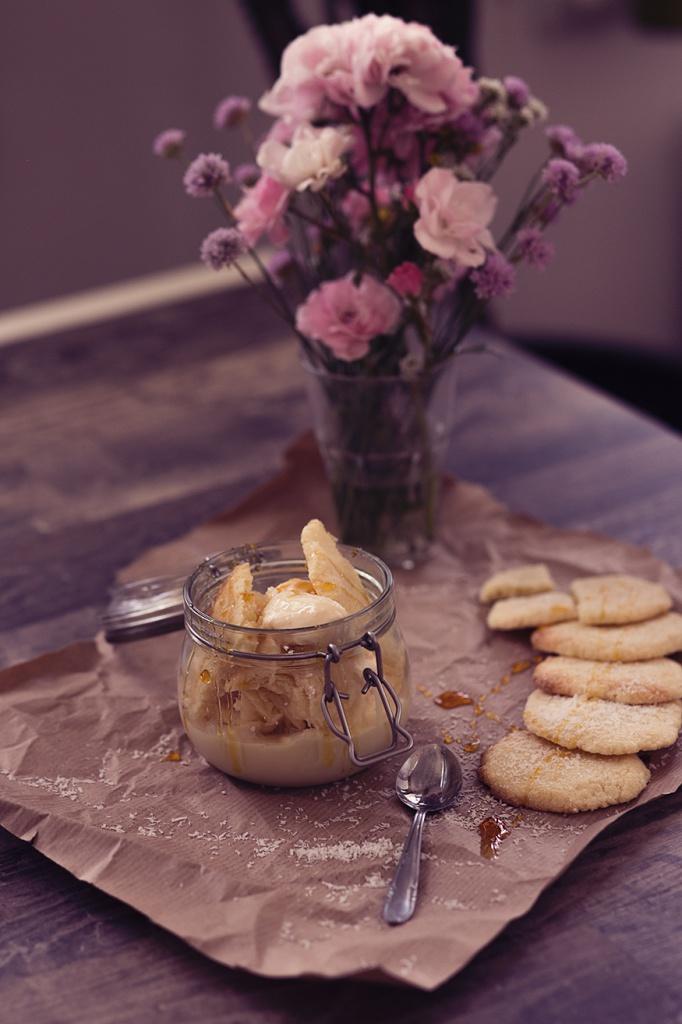DIY Eis mit Kokos Geschmack