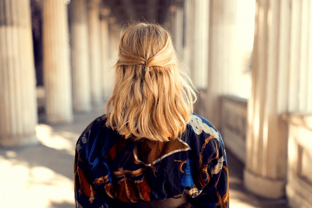 Blonde Haare Frisur