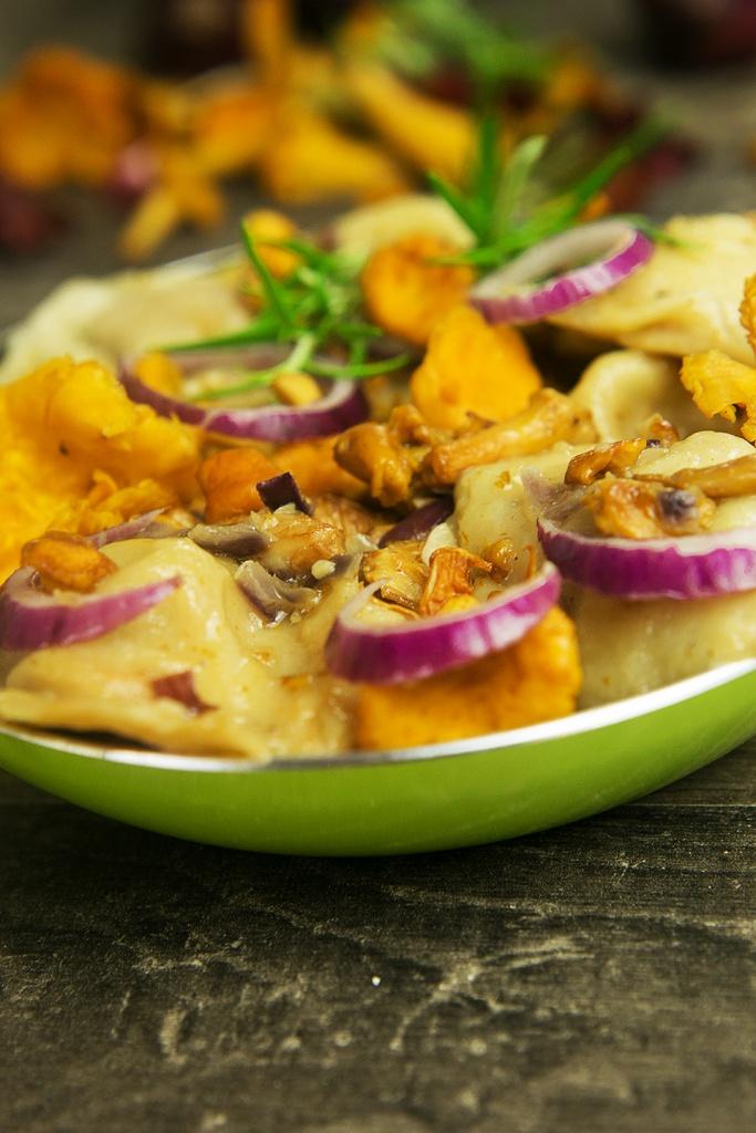 Pilz Gericht Hauptspeise
