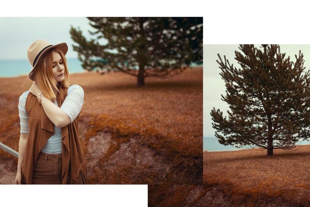Portrait von Christina Key an der Ostsee