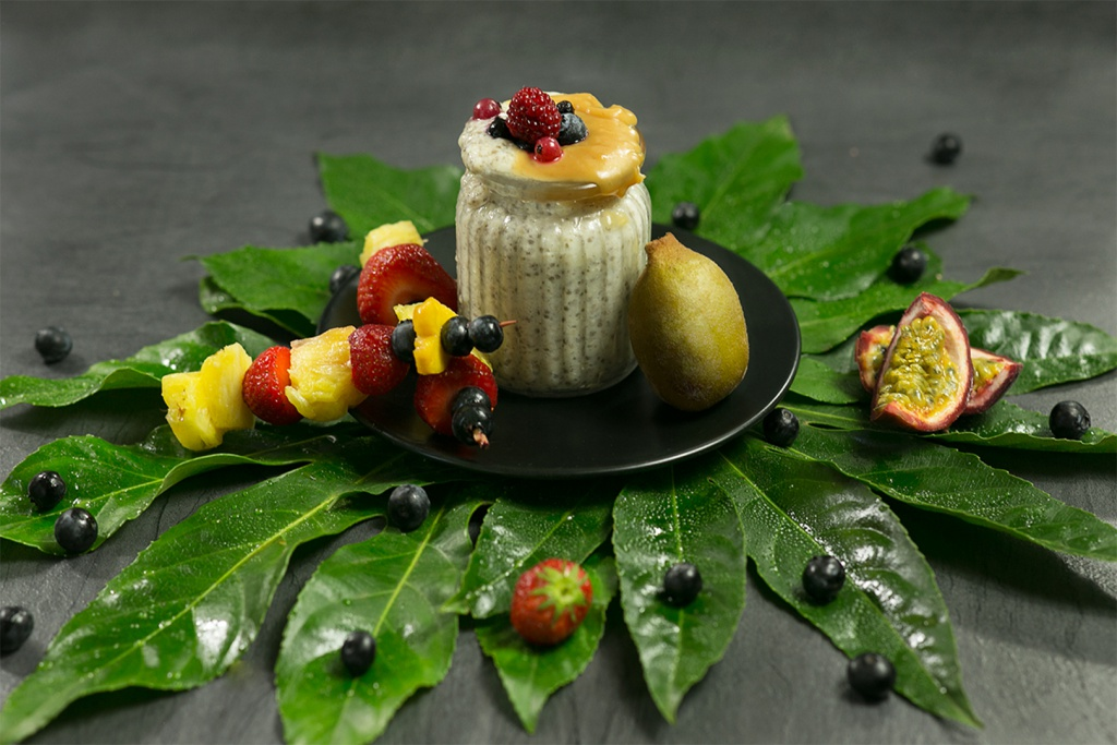 Dessert mit Zespri Sungold