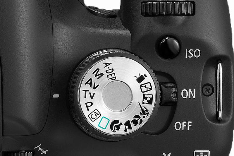 canon 50mm f/1.8 Objektiv Schriftzug