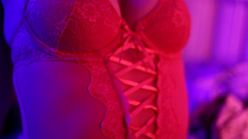 spitzenbody in pink mit spitze