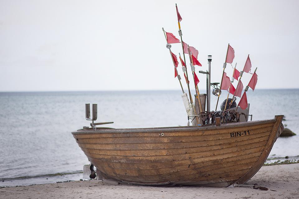 Boot-auf-Binz-bei-Rügen