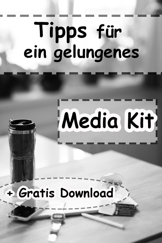 Tipps für ein gelungenes Media Kit für Blogger + Gratisvorlage