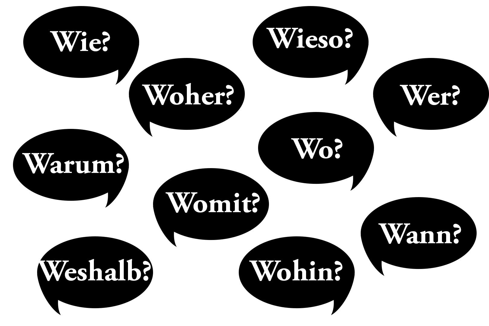 Die W-Fragen zur interessanten Gestaltung von Überschriften