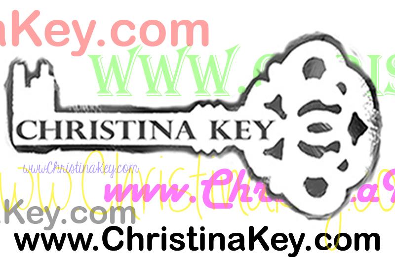 Domainname christinakey.com mit Schlüssel Logo