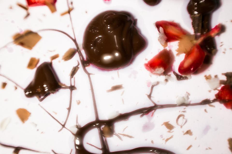 kunstwerk aus schokolade