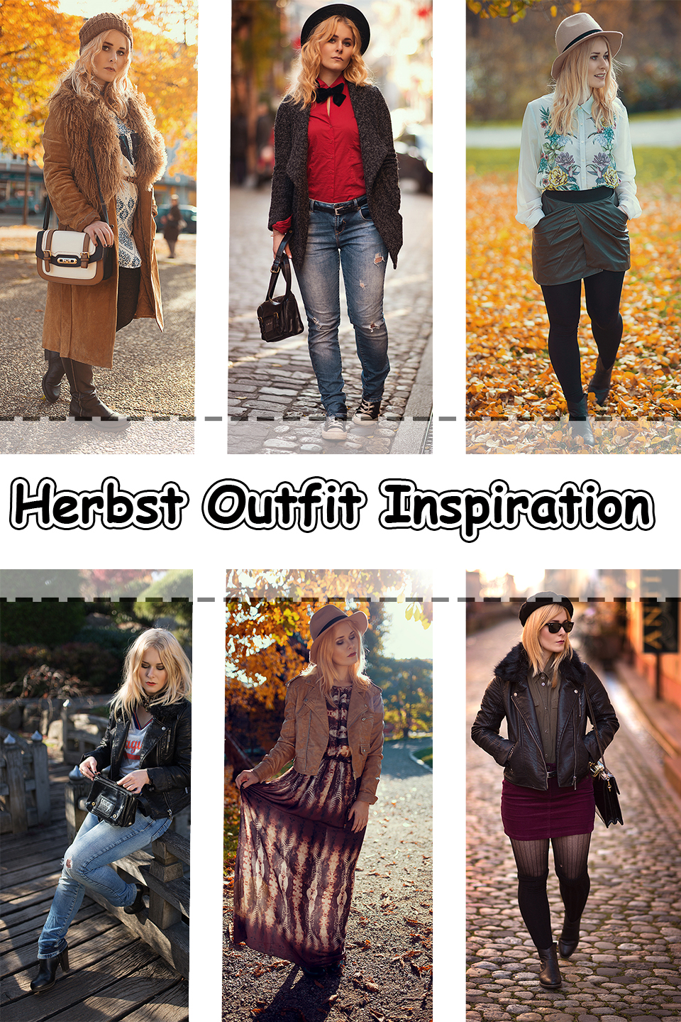 Herbst Outfits Inspiration – Looks für alle Fälle