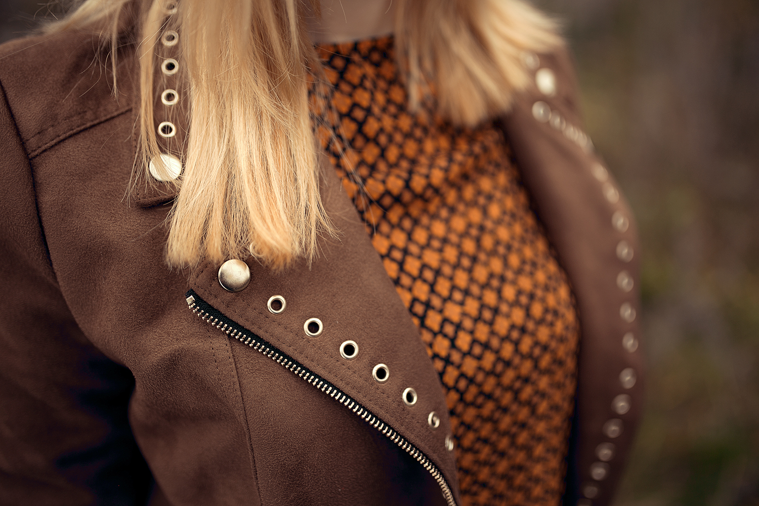 herbst outfit mit retro pullover