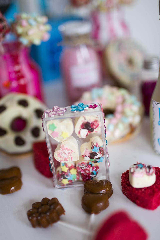 Selbstgemachte Pralinen in DIY Verpackung