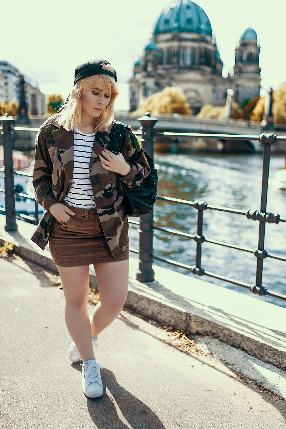 Outfit Rock Army Jacke