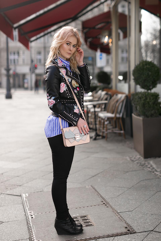 Eterna Bluse Outfit Frühling