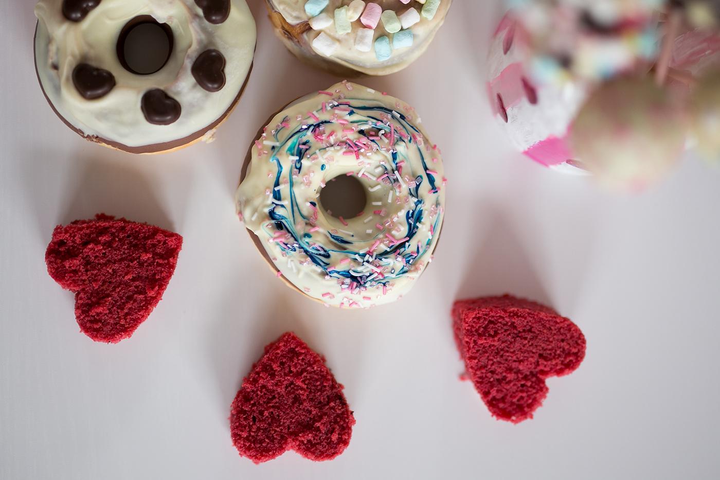 Glitzer Donut