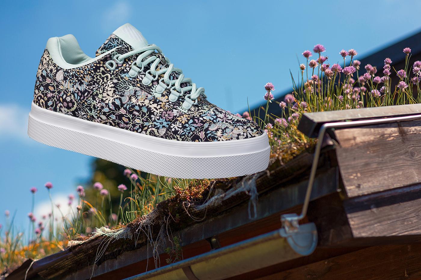 K-Swiss Floral Muster Sneaker