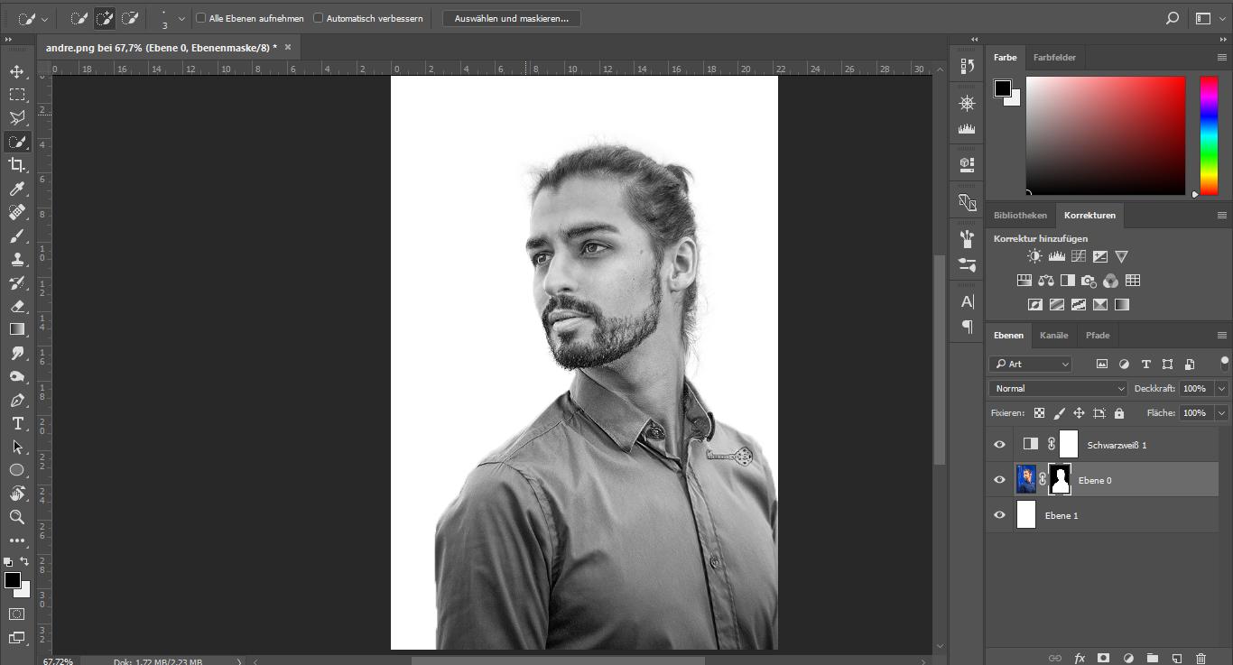maske erstellen in Photoshop