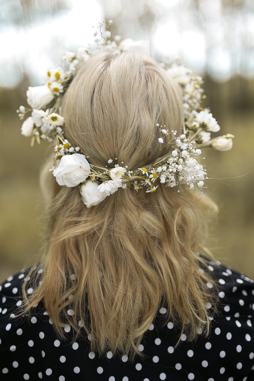 Blumenkranz weiße Blumen