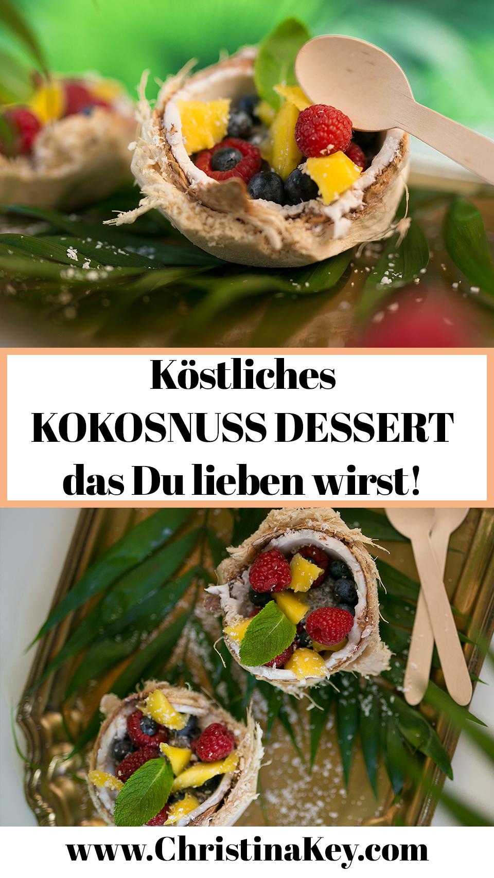 Kokosnuss Dessert