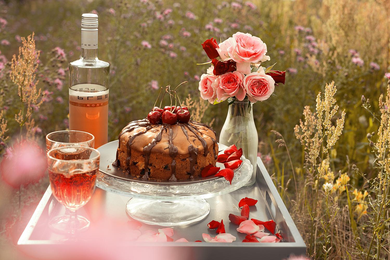 Bree Wine rose Kuchen Rezept