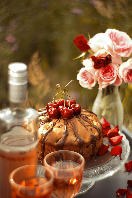 Bree Wine zum Kirschkuchen
