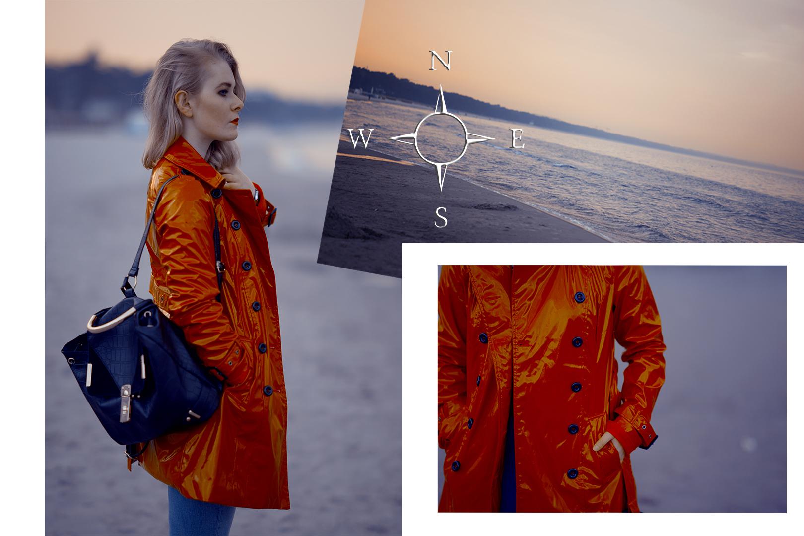 Fashion Look for Women shoot at the Baltic Sea Beach