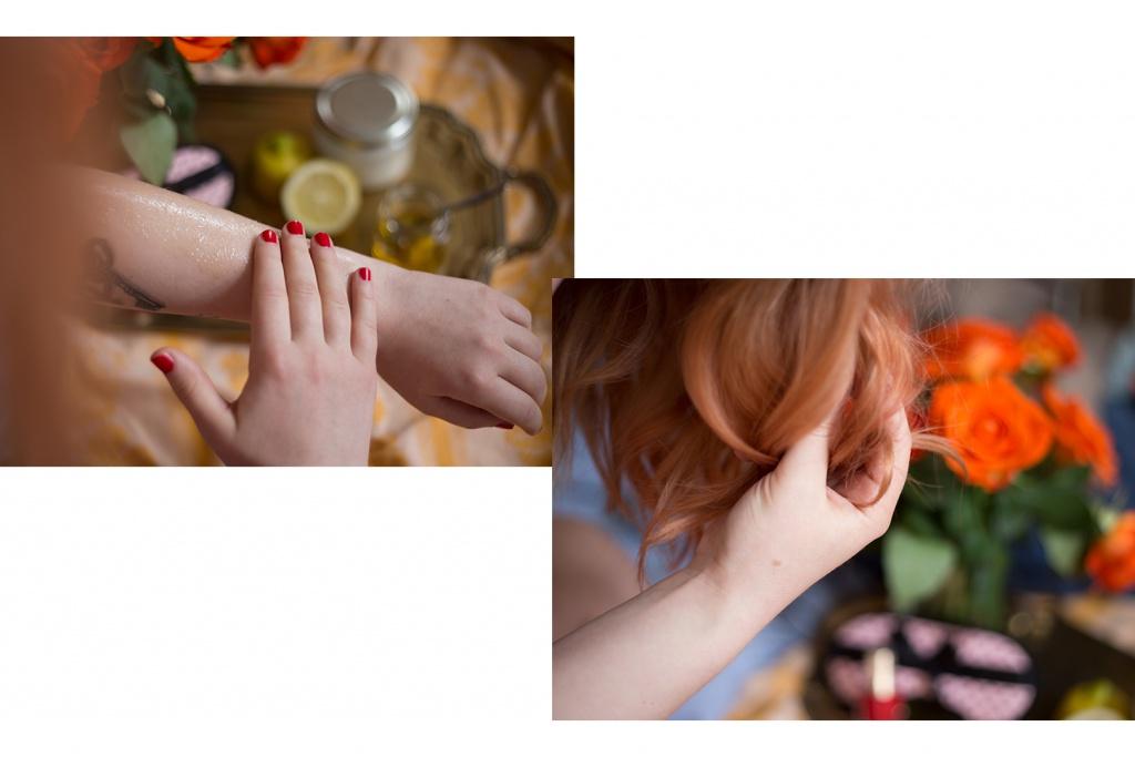 Haushalts Öl für Haut und Haare