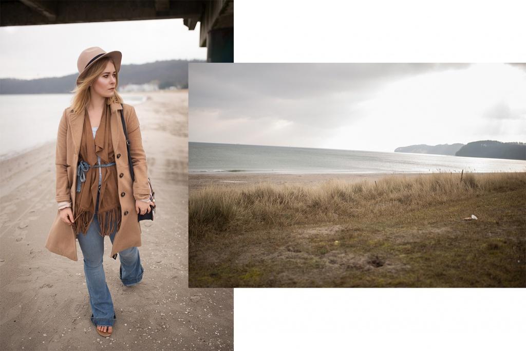 Die Wahl Berlinerin Christina Key trägt eine hellblaue Jeans