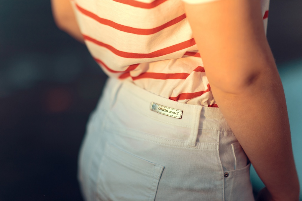 mini-rock von cross jeans
