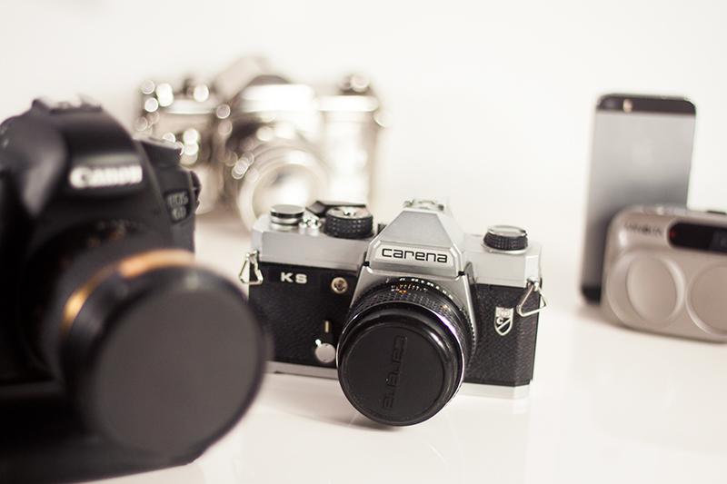 Analoge Kamera Spiegelreflex