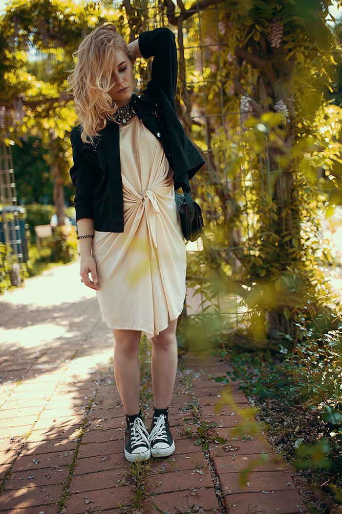 Christina Key rockiger fashion look