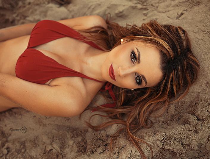 Christina Raphaella Dirr Sand Shooting