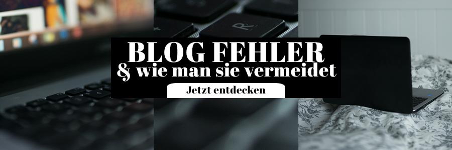 Blog Fehler und wie man sie vermeidet