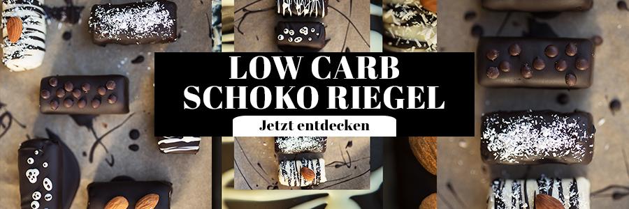 Low Carb Schoko Riegel Bounty