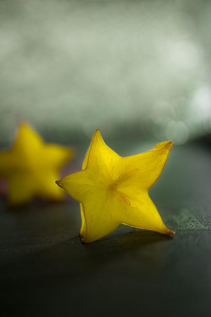 Karambole oder Karambola auch bekannt als Sternfrucht