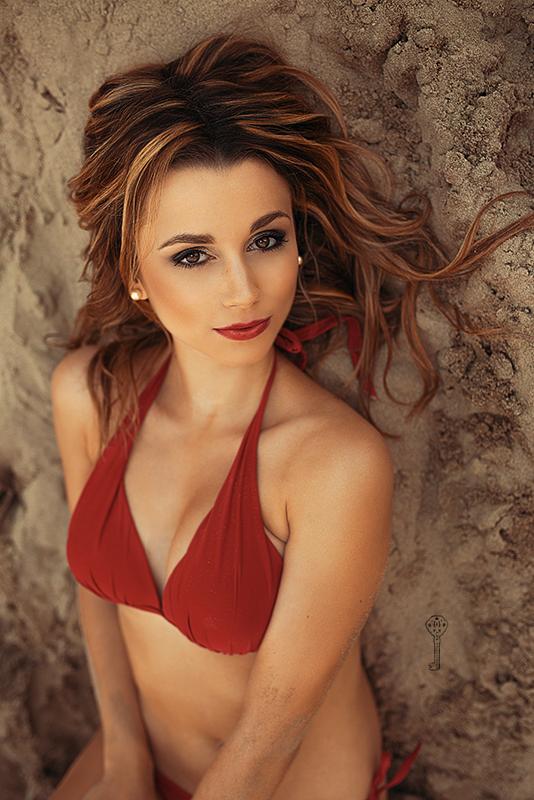 Christina Dirr Fotoshooting