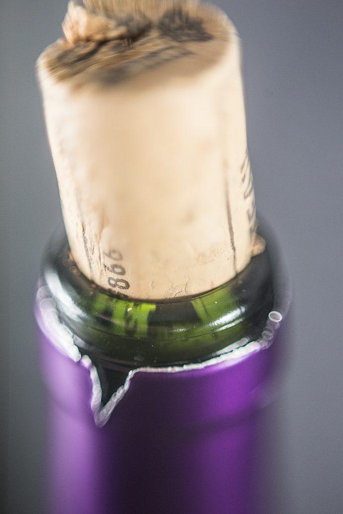 Wein Korken Makroaufnahme