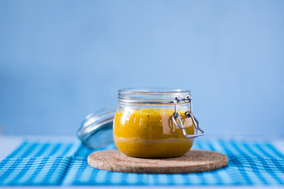 Kürbissuppe mit Kokosnuss verfeinert Rezept