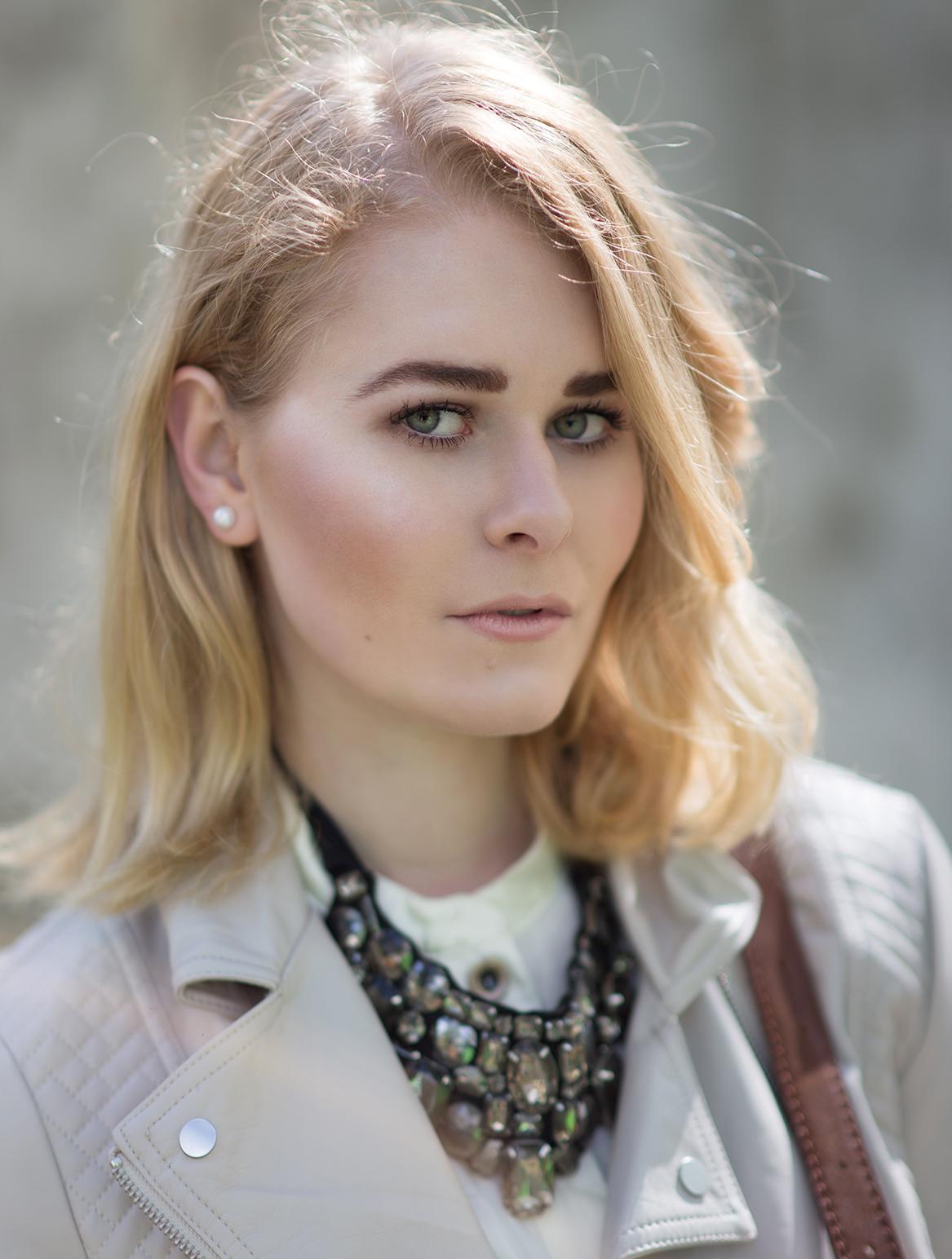 Christina Key trägt gerne Lederjacken