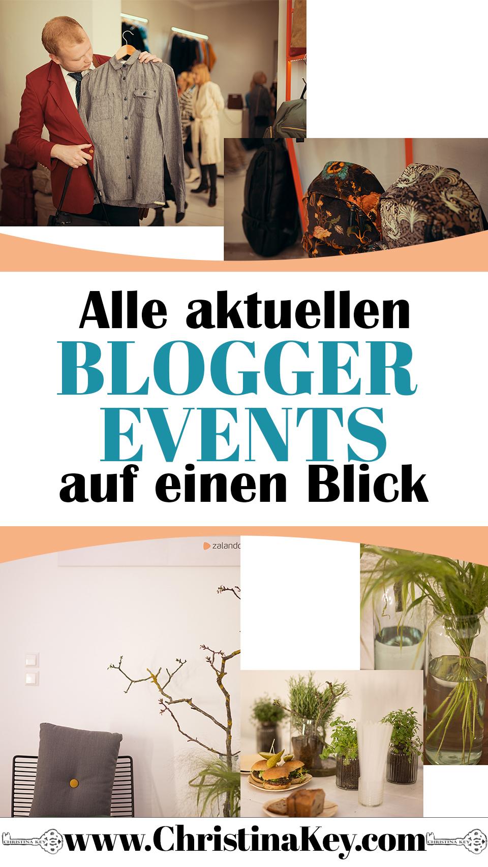 Blogger Events Übersicht
