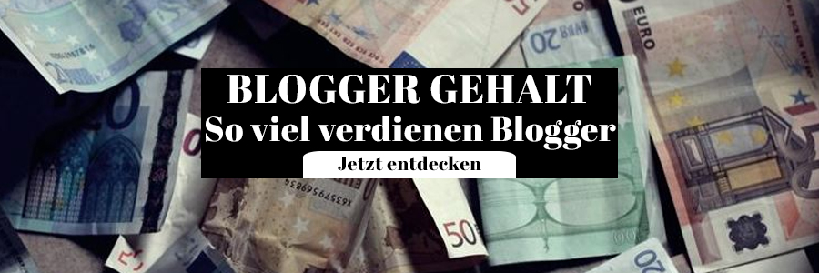 Blogger Gehalt