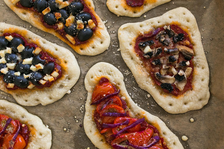 Knusprige Pizza in wenigen Minuten