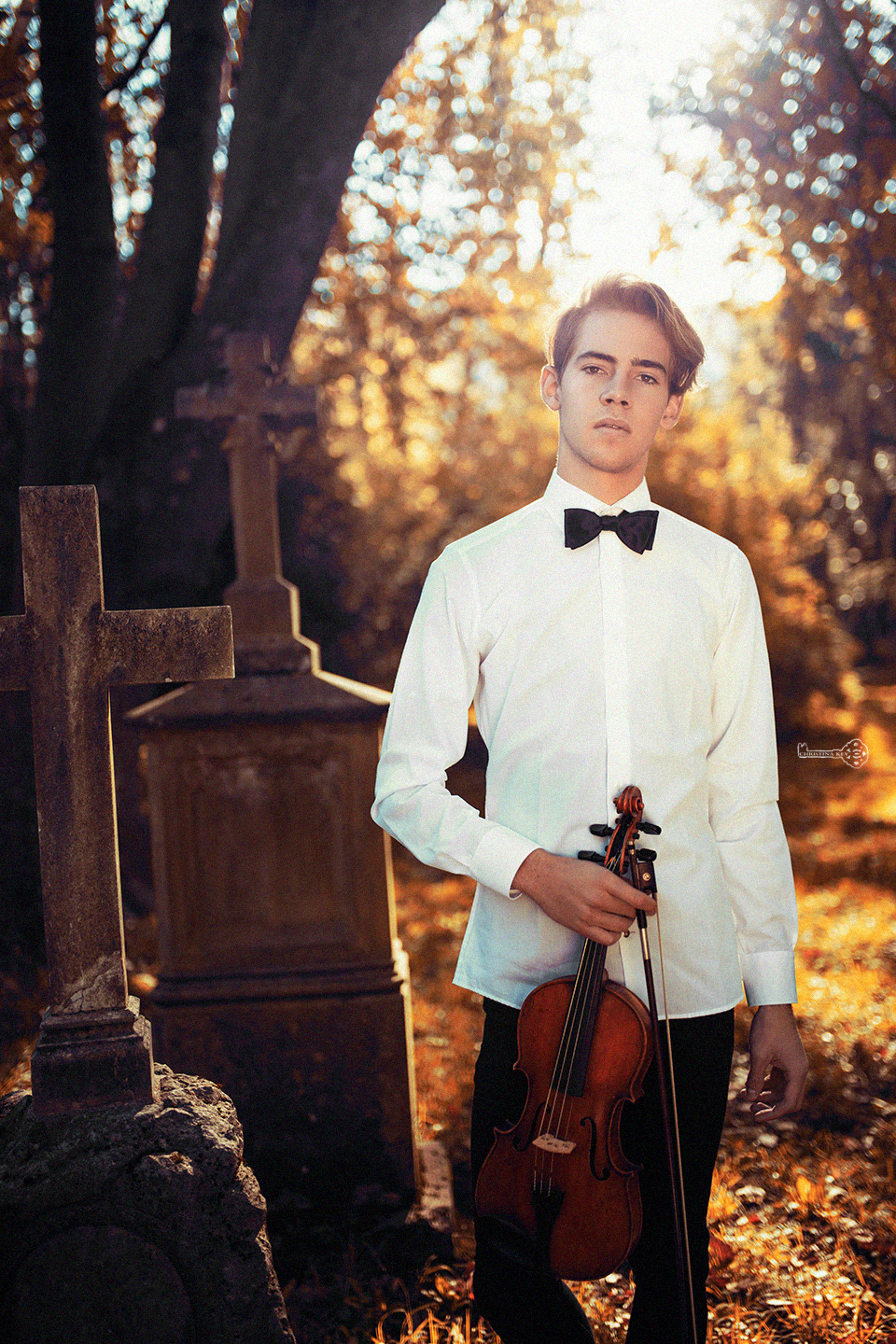 The Violinist // Jonathan Heck by Christina Key