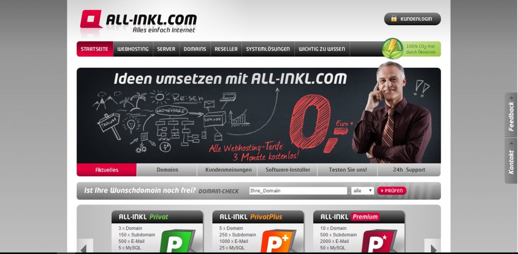 all-inkl.com webhosting