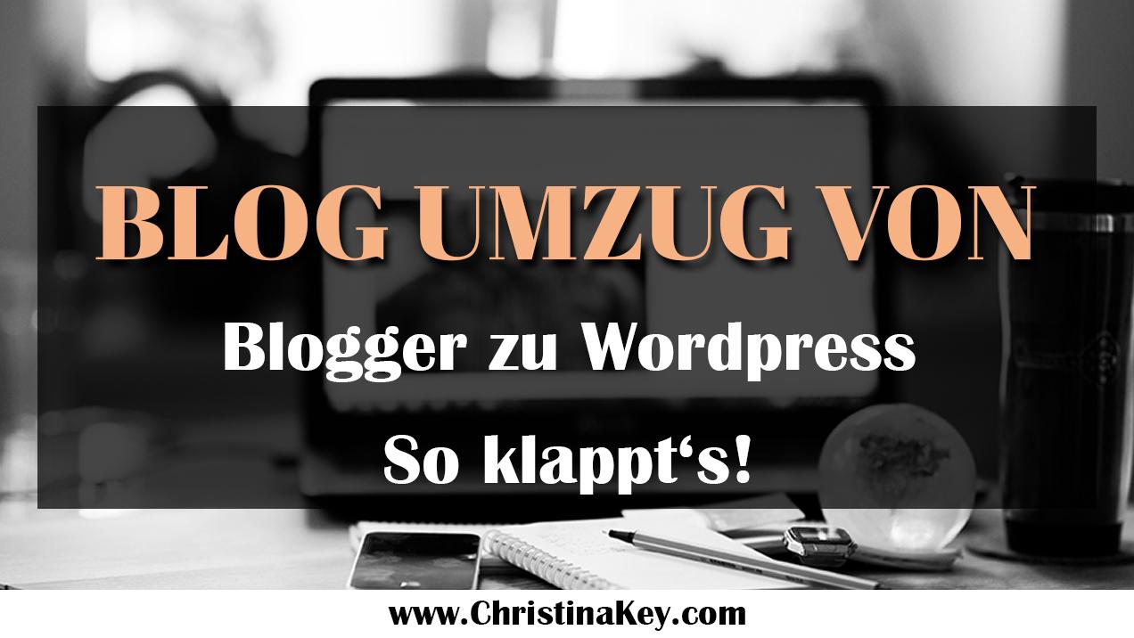Blog Umzug von Blogger zu WordPress