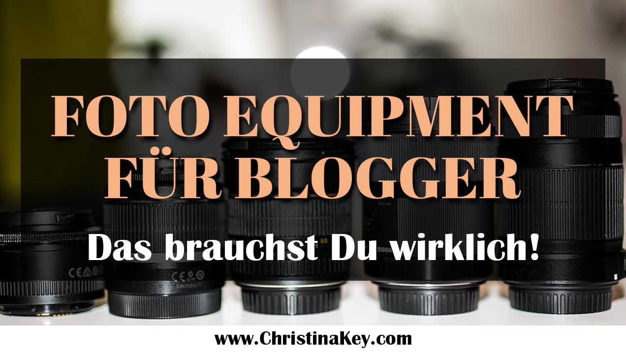 Foto Equipment für Blogger