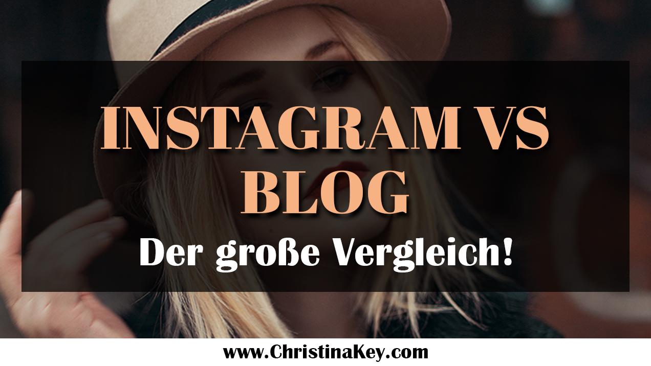 Instagram VS Blog