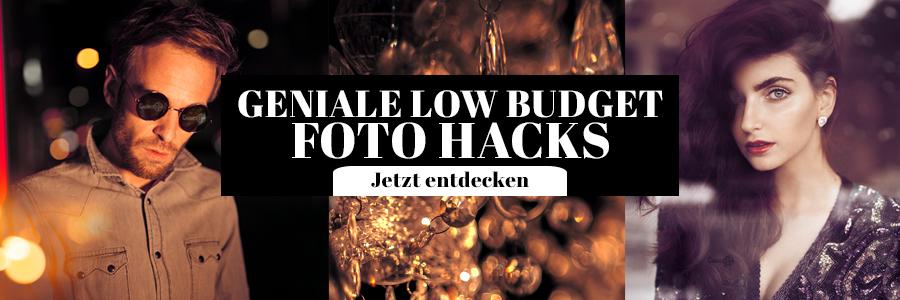 Foto Hacks Low Budget
