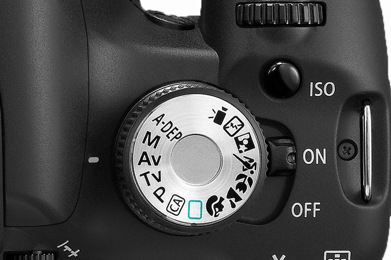 Canon DSLR Programmrad mit-Zeitautomatik