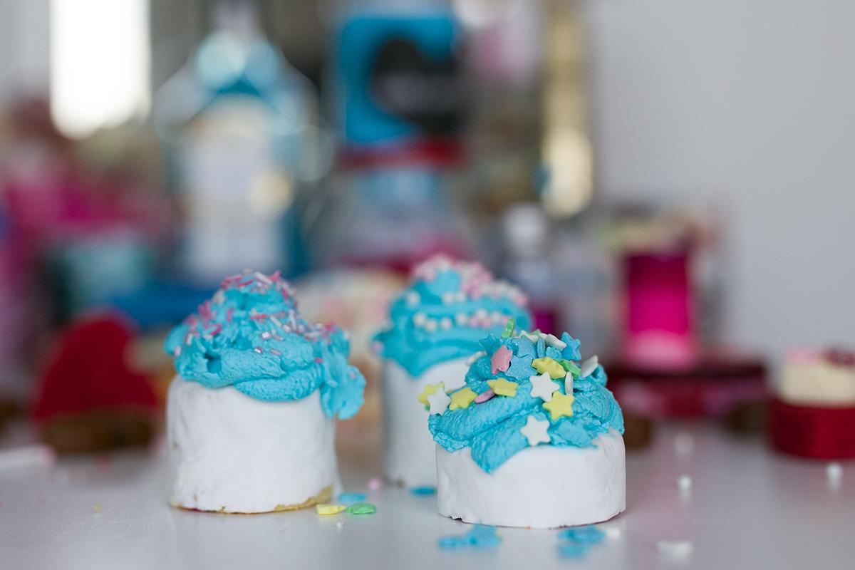 Bunte Cupcakes