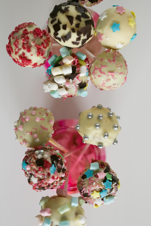 Cake Pops Dekorieren